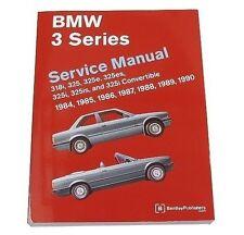BMW E30 318i 318iC 325 325e 325es 325i 325is 325iC M3 Repair Manual Bentley