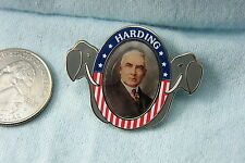 WILLABEE & WARD PIN WARREN G. HARDING 1921-1923
