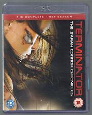 TERMINATOR Sarah Connor Chronicles - Season 1 - UK BLU-RAY - (as new/unplayed)