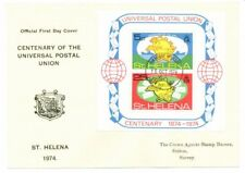 English First Day Cover, Universal Postal Union, 1974