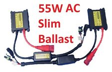 Pair of 55W 12V AC Super Slim replacement ballasts for HID Conversion Kit