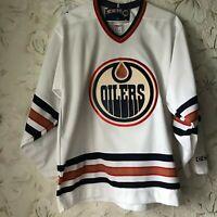 Vintage Edmonton Oilers CCM NHL Hockey Jersey Mens Size M