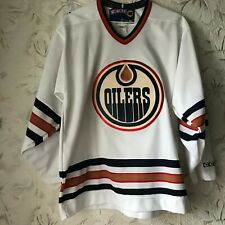 Vintage Edmonton Oilers CCM NHL Hockey Jersey Mens Size M