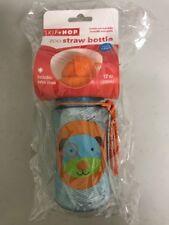 Skip Hop Zoo Straw Bottle - Dog, 12 oz / 350ml