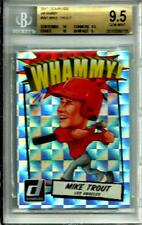 2017 Donruss Whammy # W1 SSP Mike Trout Gem MINT 9.5 W/10's (1-Whammy Per Case)