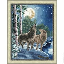 COUNTED CROSS STITCH KIT GOLDEN FLEECE NIGHT SONG ANIMALS NATURE SEASONS NEW
