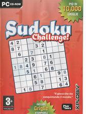 SUDOKU CHALLENGE  PC SIGILLATO