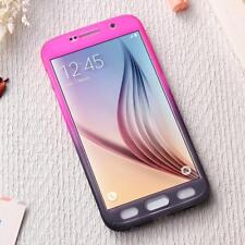 Huawei P10 Cellphone Case Protective Full-Cover Armor Glass Pink/Purple