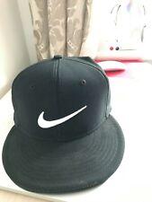Nike True Tour Statement Flex Fit Golf Cap Golf Hat S/M - BLACK Aerobill