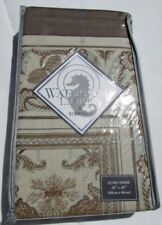 """Nwt Waterford Linens Concerto Sand Euro Pillow Sham 26"""" x 26"""""""