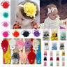 3/5/8 PCs Flower Baby Girls Lovely Headbands Casual Party Hair Accessories
