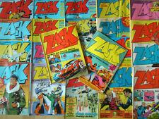 Zack - Konvolut 22 Comichefte von 1972-80 Michel Vaillant, Blueberry, Dan Cooper