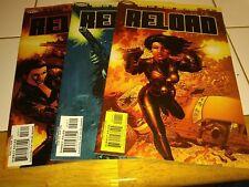 Reload #1-3 (2003) Homage Comics VF/NM to NM WARREN ELLIS & PAUL GULACY 1 2 3