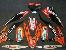 KTM SX/SXF 125-450 2019 Team Hitachi Milwaukee graphics + plastics GR1801