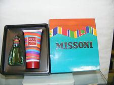 MISSONI NOI vintage SET REGALO ...EAU TOILETTE 50spray + SHOWER GEL 150ml