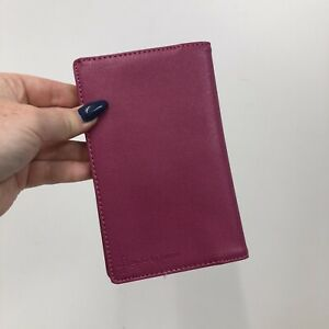 Filofax Flex First Edition Slim Size Organiser Wallet Magenta Pink