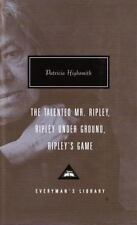 Mr. Ripley: Talented, Under Ground, Game Patricia Highsmith 1999 Hardcover