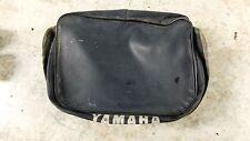86 XT 600 XT600 Yamaha rear back fender luggage storage bag