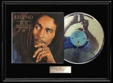 BOB MARLEY LEGEND ALBUM LP WHITE GOLD SILVER PLATINUM TONE RECORD RARE NON RIAA