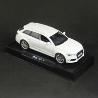 1:32 Scale Audi RS6 Quattro Model Car Diecast Gift Toy Vehicle Kids White Sound