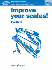 Improve Your Scales Grade 1 New Edition Piano Solo Beginner FABER Music BOOK