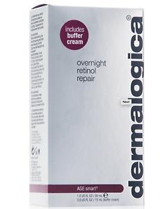 Dermalogica Overnight Retinol Repair 0.5% 1 oz  with Buffer Cream 0.5 oz New