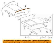 TOYOTA OEM 2018 Camry Sunroof-Side Molding Left 6321806120