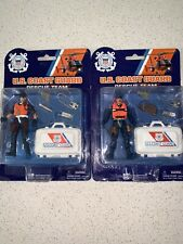 US Coast Guard Rescue Team/Squad Member-W/Various Accessories-NIB 2 Men Lot