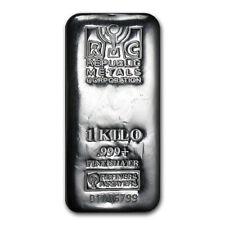 1 Kilo Silver Bar .999 Fine (Hallmark Varies)
