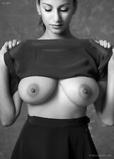 Fine Art Nude black & white photo - signed print by Craig Morey: Sabine 6964BW