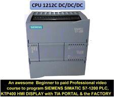 Programming Simatic S7 1200 Plc Amp Ktp400 Hmi Display With Siemens Tia Portal