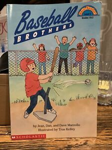 Baseball Brothers by Jean Marzollo (1999) Autographed By Jean Marzollo