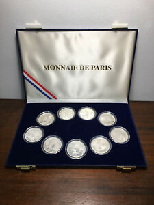 Coffret 9 Monnaies de 100 Francs Jeux Olympique Albertville 92