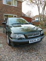 volvo, s40, 1.8 auto, 1997, 71000 miles, 12 months MOT, FSH, 2 owners, excellent