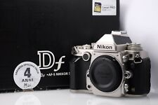 Nikon DF Silver Body in Good Condition With Box Shutter Count 17434
