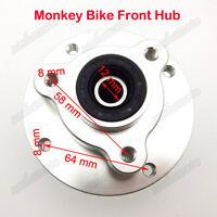 Monkey Bike CNC Front Wheel Hub For 12mm Alex Honda Z50 Z50J Skyteam Disc Brake