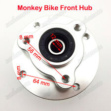 Monkey Bike CNC Front Wheel Hub For 12mm Alex Honda Z50 Z50J Skyteam Disc Brake