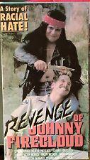 Revenge of Johnny Firecloud (VHS) Super-rare 1975 thriller with Ralph Meeker