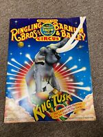 Vintage Circus Program 1987 Ringling Brothers And Barnum And Bailey