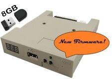 Amiga Atari ST Amstrad USB Floppy Disk Emulator GOTEK FlashFloppy w/8GB USB key
