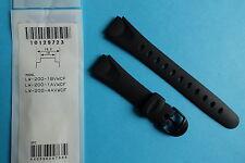 Casio Uhrband Ersatzband  LW-200 schwarz
