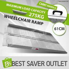Aluminium Wheelchair Ramp Access Folding Loading Scooter Van 2FT Portable