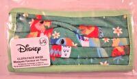 Disney Parks Tiki Room Birds Cloth Face Mask Adult Large Green Sealed New