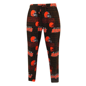 NFL Cleveland Browns Men's Pajama Sleepwear Lounge Bottoms Size Small- NWT