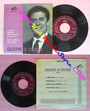 LP 45 7'' GIUSEPPE DI STEFANO O sole mio Marechiare Santa lucia no cd mc dvd vhs