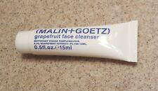Malin+Goetz Grapefruit Face Cleanser 0.5 oz / 15 ml - sealed