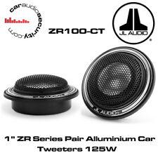 """JL AUDIO® ZR100-CT 1"""" ZR Series ALUMINUM CAR TWEETERS PAIR ZR-100CT ZR100 125W"""