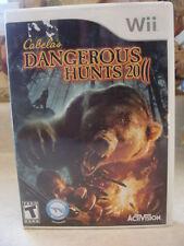 Cabelas Dangerous Hunts 2011 Game WII MP