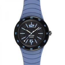 Orologio Uomo HIP HOP SOLARE 42mm HWU0774 Silicone Blu Colorato NEW Estate