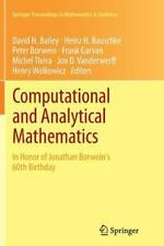 Springer Proceedings in Mathematics and Statistics: Computational and...